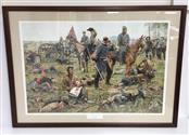 BRADLEY SCHMEHL PRINT THE GRIM HARVEST OF WAR THE VALLEY CAMPAIGN SIGNED